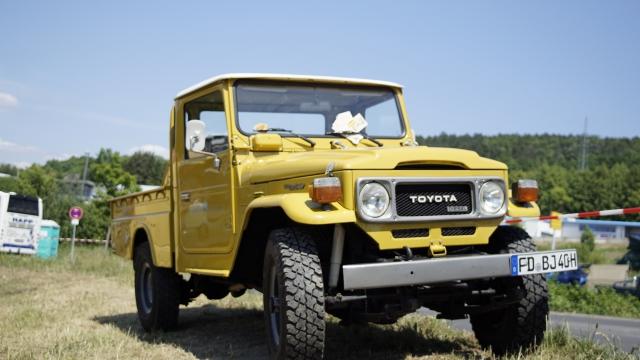 Toyota F40 restauriert
