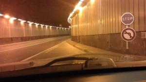Tunnel unter dem Fairmont