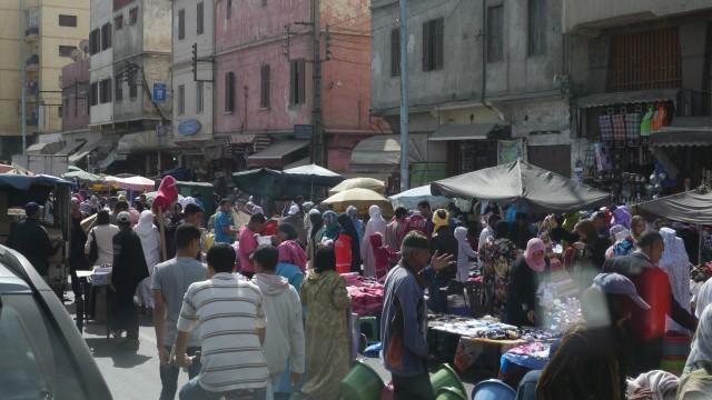 Markt in Casablanca, Marokko