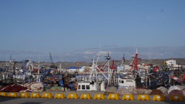Hafen Nähe Ceuta