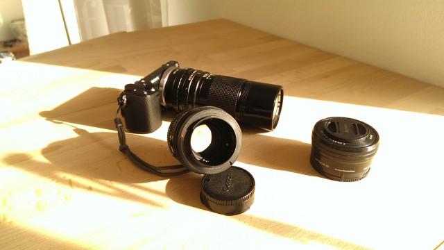 Canon 200mm F4 FD