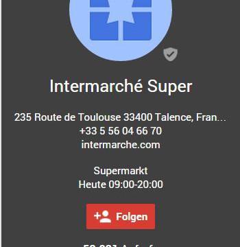 Intermarche_3 Bordeaux, Frankreich