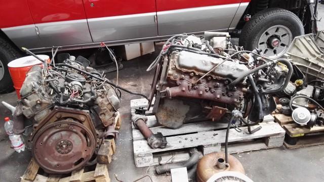 Ford 7.3 IDI, E4OD