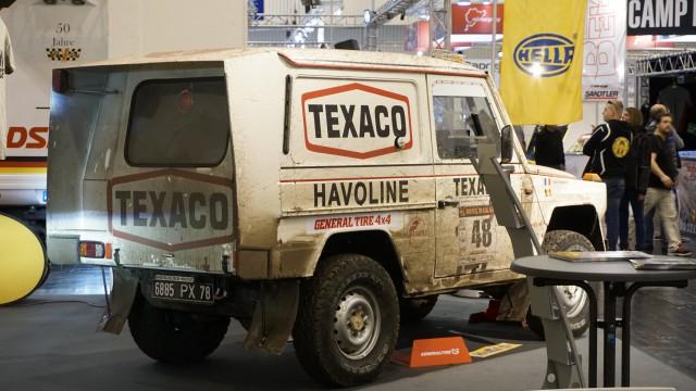 Mercedes G « Dakar 1983 Jacky Ickx et Claude Brasseur