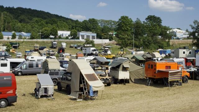 Camp Arema 2015, vordere Wiese