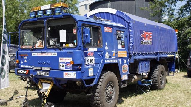 "MAN KAT1 4x4 ""Service"" Truck"