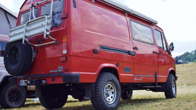 Mercedes 310 Umbau auf 4x4, 235/85-16