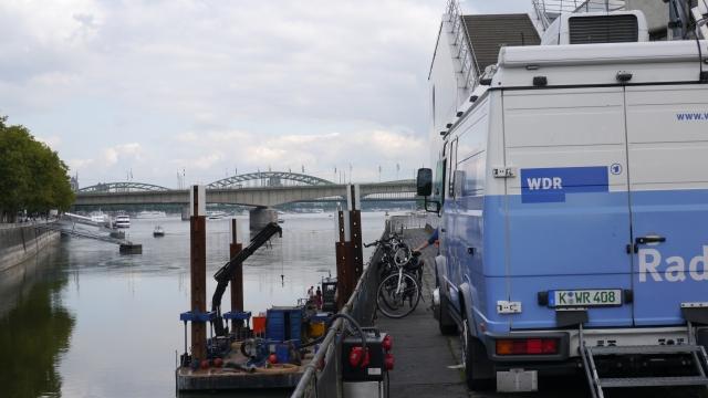 der WDR ist auch schon da